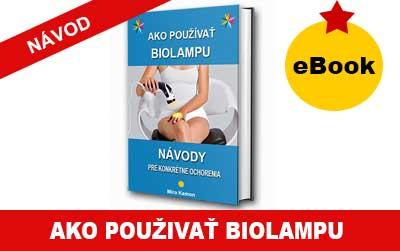 Návod ako používať biolampu - Ebook