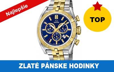 Drahšie pánske zlaté hodinky od 700 do 2000 eur