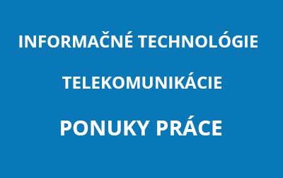 IT - Informačné technológie - Praca