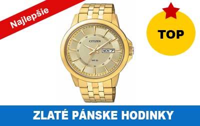 Pánske zlaté hodinky do 100 eur